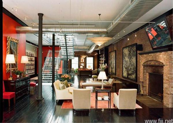 曼哈顿loft豪华复式公寓